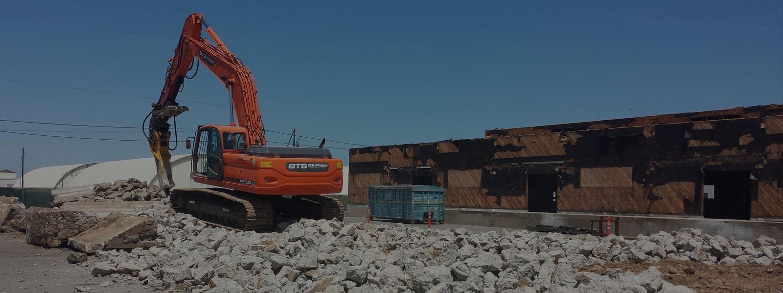BTS Equipment Unlimited Inc.    A San Diego Demolition & Concrete ...